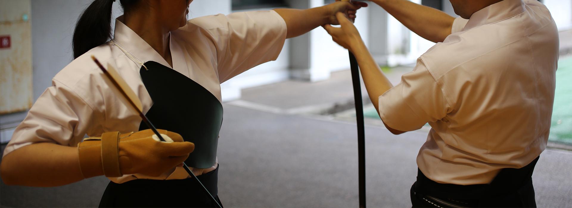 自宅で出来る、弓道自主トレーニング特集イメージ