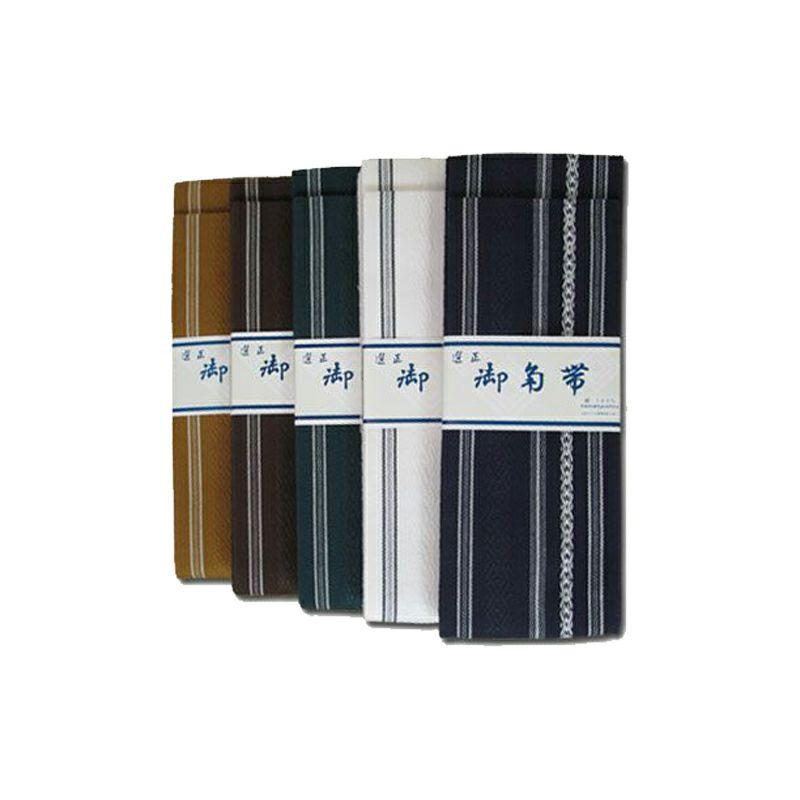 正絹 日本製 角帯